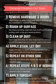 how to refinish kitchen cabinets with stain best 25 cabinet stain ideas on pinterest stained kitchen