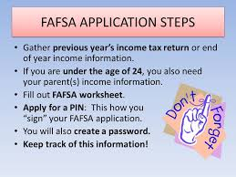 financial aid what is it how to apply questions ppt download