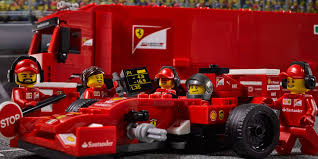 lego ferrari watch a time lapse build of the new lego ferrari f1 kit