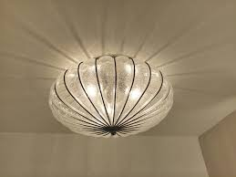 Italian Ceiling Lights Gaggia Accademia Bedroom Transitional With Glass Ceiling Light