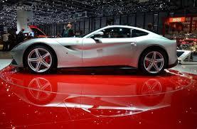 F12 Berlinetta Interior 2013 Ferrari F12berlinetta White Driving In Line