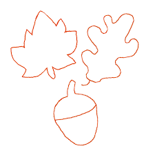 fall leaf template cyberuse