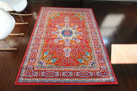 Red Turquoise Rug Red And Turquoise Area Rug 3889