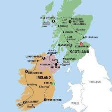 map uk ireland scotland best of ireland scotland trafalgar dublin edinburgh