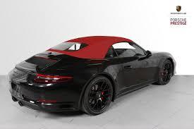 New 2018 Porsche 911 Carrera Gts Cabriolet