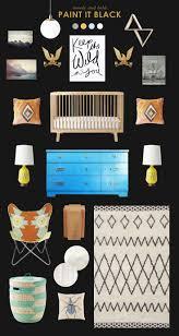 17 parasta ideaa hipster nursery pinterestissä lastenhuone ja