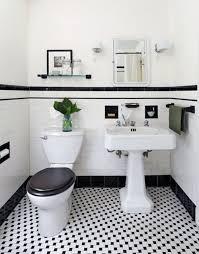 white bathroom tile designs 31 retro black white bathroom floor tile ideas and pictures