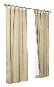 Tab Top Sheer Curtain Panels Alcott Hill Ranger Solid Semi Sheer Thermal Tab Top Curtain Panels