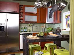 Red Cabinets Kitchen by Kitchen Cool Small Space Design Ideas With Shape Trends Including