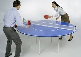 Table Tennis Boardroom Table Round Ping Pong Table