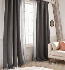 Ready Made Curtains For Large Bay Windows by Curtains U0026 Drapes Pottery Barn