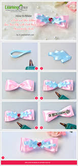 how to make girl bows best 25 bow hair ideas on