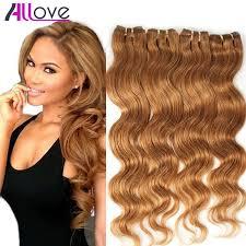 Light Brown And Blonde Hair 4 Bundles Light Brown Virgin Hair 5a Unprocessed Peruvian Virgin