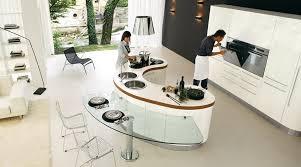 contemporary kitchen islands kitchen modern curved kitchen island black and white modern
