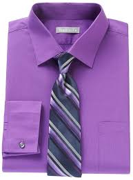 van heusen fitted dress shirt striped tie boxed set where to buy