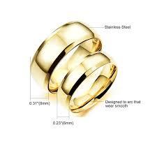 engagement ring for men silver blue gold black titanium steel engagement ring men women s