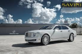 bentley mulsanne matte black mulsanne savini wheels