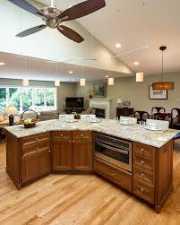 Kitchen And Living Room Open Floor Plans Open Floor Plan Kitchen Renovation In Northern Virginia