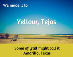 yellow tejas home along the way