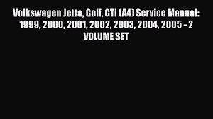 download volkswagen jetta golf gti a4 service manual 1999 2000