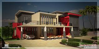luxury house designs and floor plans beautiful contemporary luxury villa with floor plan house design