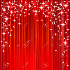 red christmas background with stars and stripes royalty free