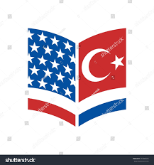 Flag Book Book Logo Flag Us Turkey Logo Stock Vector 343889675 Shutterstock