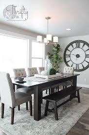 dining room idea decorating ideas dining room of clock big clocks deentight