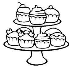 cupcake coloring pages cupcakes and ice cream pinterest