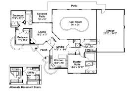 pool house floor plans ranch house floor plans with pool luxihome