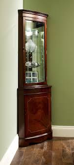 curved corner curio cabinet uncategorized pulaski corner curio cabinet inside amazing pulaski