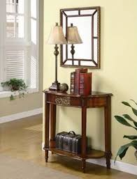 Entrance Tables And Mirrors Entryway Table With Mirror Home Design Ideas And Pictures