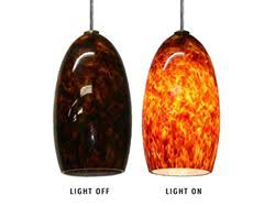 Colored Glass Pendant Lights Ruby Speckle Blown Glass Pendant Light Artisan Crafted Lighting