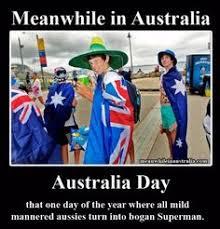 Funny Australia Day Memes - there natural habitat ghetto bogans red necks ratchet