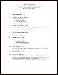 agenda meeting template word executive brief sample status report