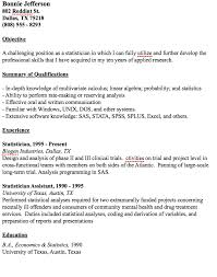 Resume Com Samples by Example Statistician Resume Http Resumesdesign Com Example