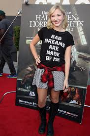 audrey whitby at the halloween horror nights eyegore awards