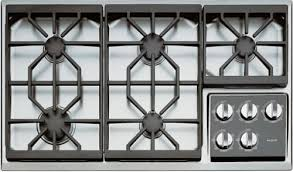 Sealed Burner Gas Cooktop Kitchen Impressive Wolf 36 Pro Style Gas Rangetop Stainless Steel