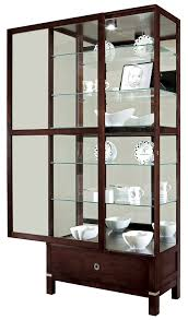 wall shelves amazon curio cabinet curio cabinet amazon com display beacon hill wall