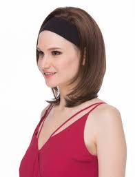 hair with headband hair 3 4 wig mildred with headband