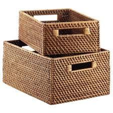 rattan basket storage u2013 dihuniversity com