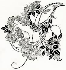 black and white swirl design free clip free clip