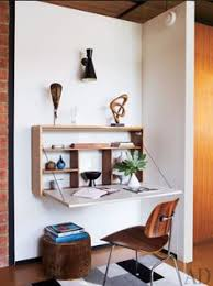 Home Interior Design Photos For Small Spaces A Very Cool Wall Desk Perfect For Small Spaces Home Decor