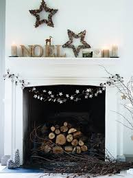 3 Stylish Mantel Displays Sainsbury 50 Christmas Mantle Decoration Ideas Birches Pine Cone And Birch