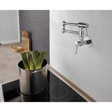 brizo 62820lf gl euro luxe gold pot filler kitchen faucets