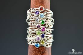 mothers infinity ring sterling silver infinity s rings infinity ring stacking