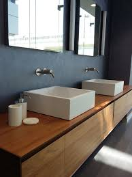 antonio lupi white top with integrated under counter wash basin