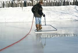 Backyard Ice Rink Tips Backyard Ice Rink Accessories 52 Inch Ice Master Economy