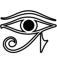eye of horus icons noun project