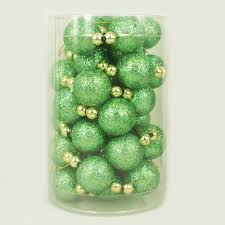 2 5cm christmas ball christmas decoration mini plastic ball